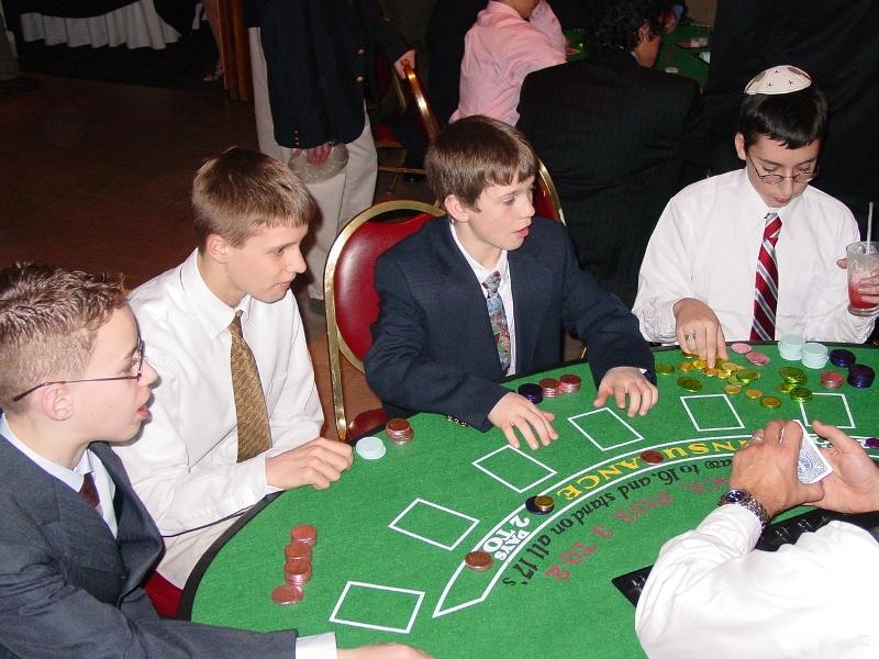 kids casino parties