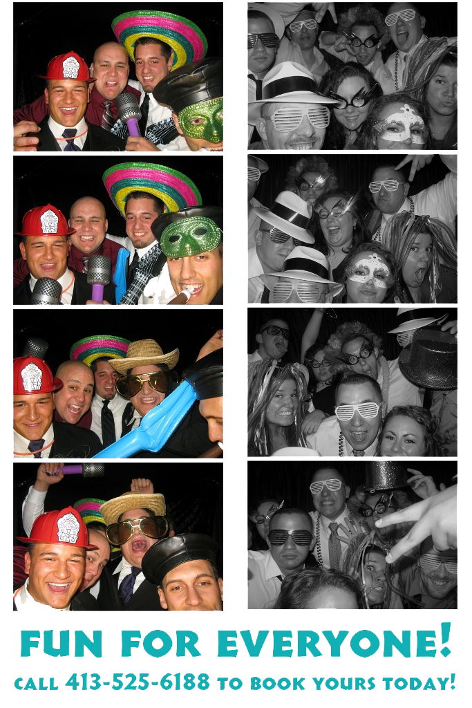 Photo strip from Marx photobooth
