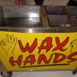 Marx Entertainment Wax Hands