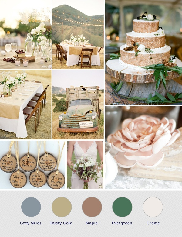 Pallet Wedding Rustic
